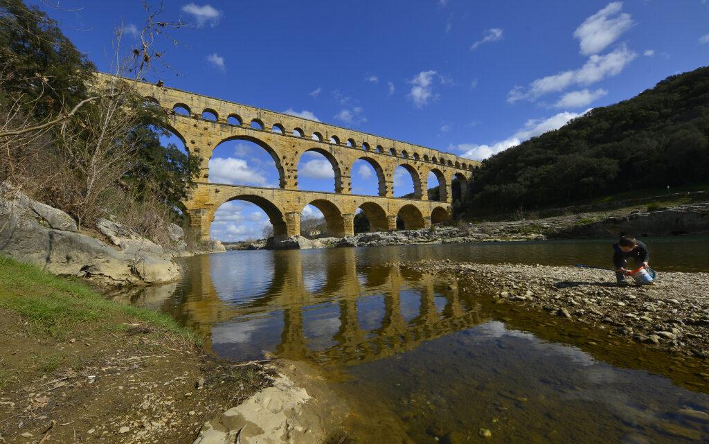 Akvedukten Pont du Gard